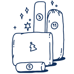 Adventsome Adventskalender 2021 Handverpackt